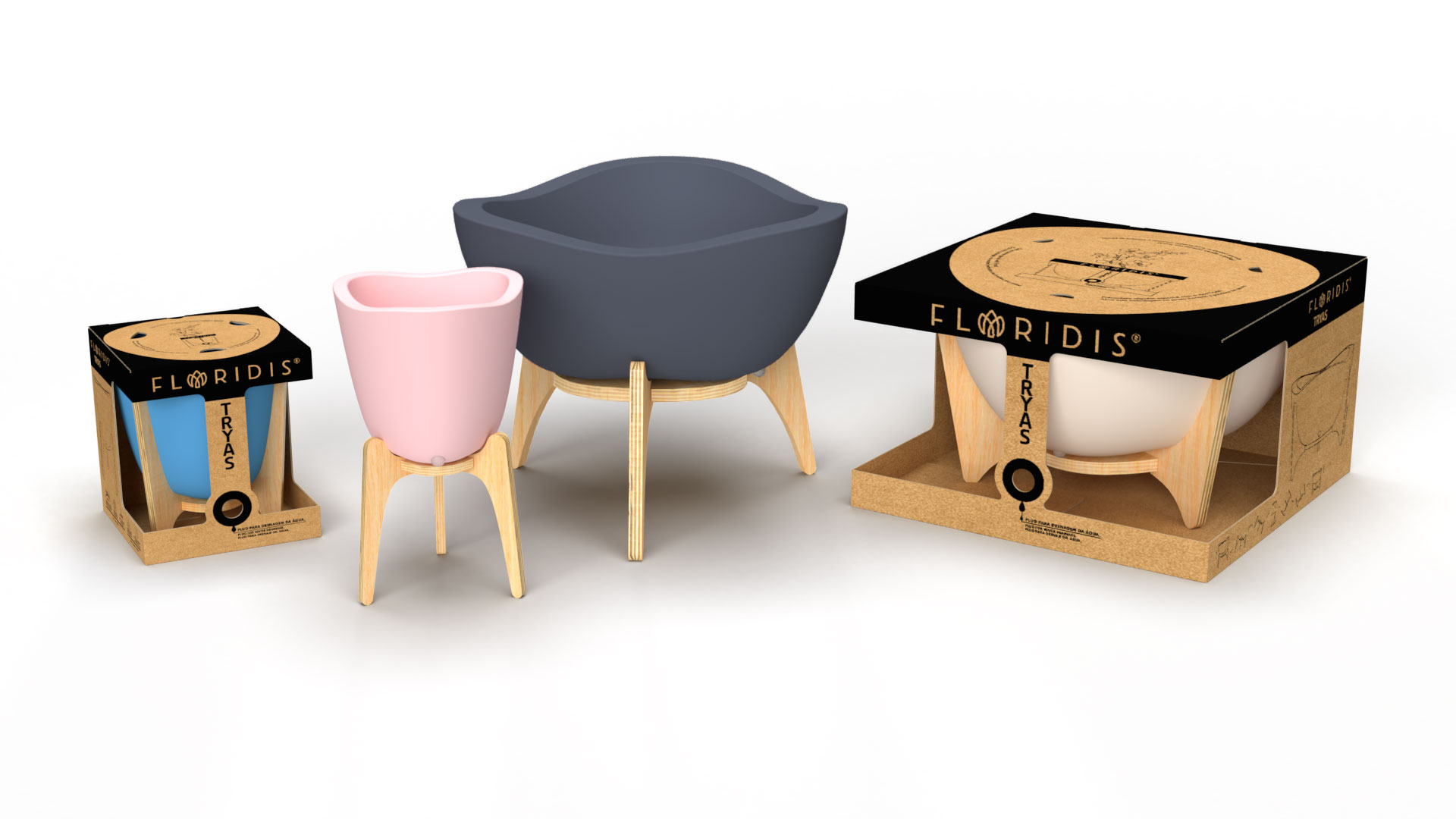 Tryas - Pot design